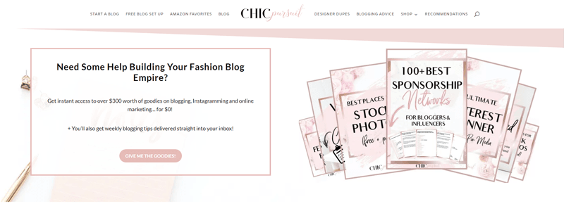 chic pursuit blog