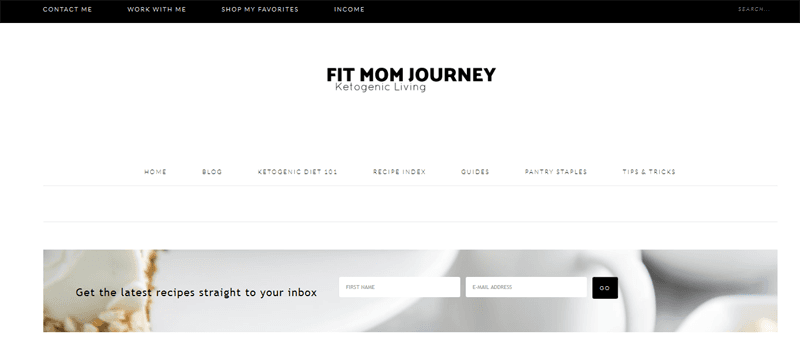 fit mom journey blog