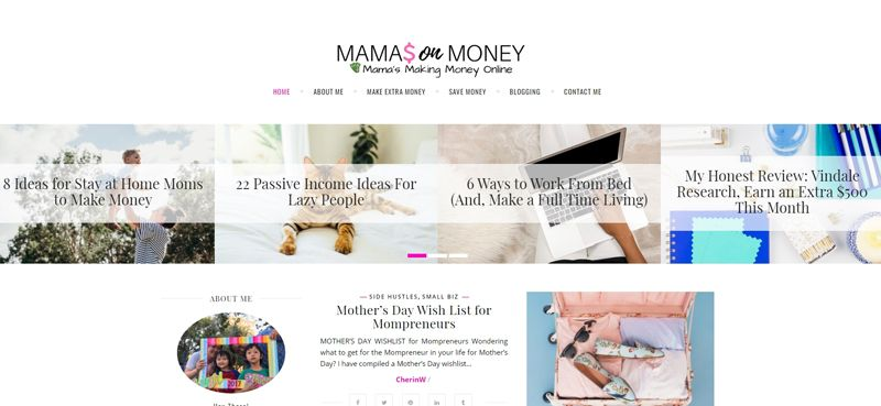 mamas on money blog