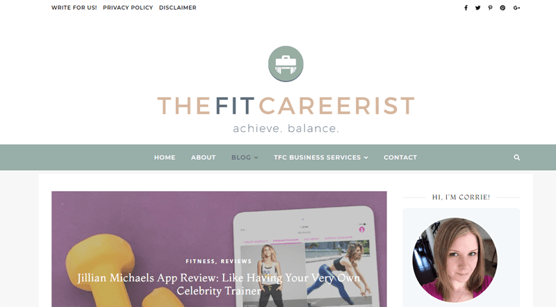 the fit careerist blog