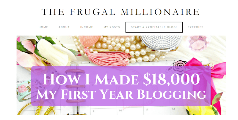 the frugal millionaire blog