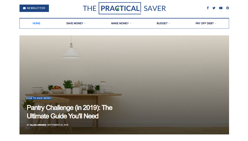the practical saver blog