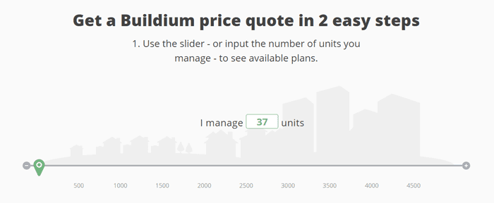 buildium pricing